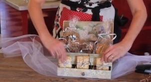 Fl Jewelry Box Gift Basket 100